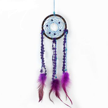 Creative Handmade Feathers Dreamcatcher Original  Wall Hangings Gifts