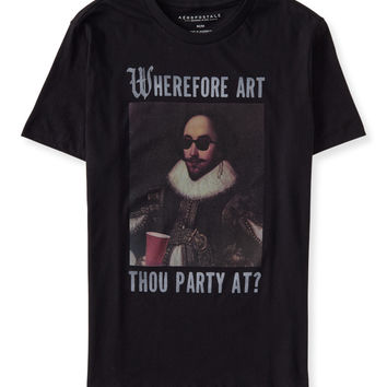 Shakespeare Swag Graphic T
