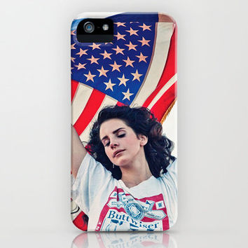 RIDE - LANA DEL REY iPhone & iPod Case by Beauty Killer Art