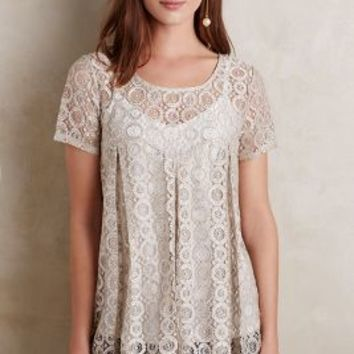 Embroidered Lyra Top by Akemi + Kin Silver