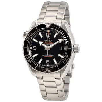 Omega Seamaster Planet Ocean 600 M Automatic Black Dial Mens Watch
