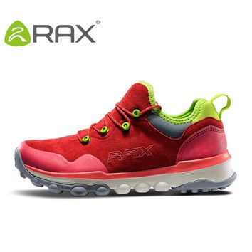 RAX Men Outdoor Sneakers Sports Hiking Shoes Trainers Trekking Woman Sneakers sapatos masculinos Mountain Climbing Shoes Leather