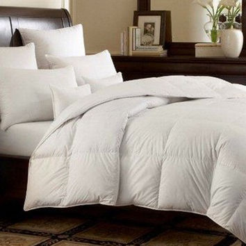 White Goose Down Alternative Comforter Queen Twin King Size