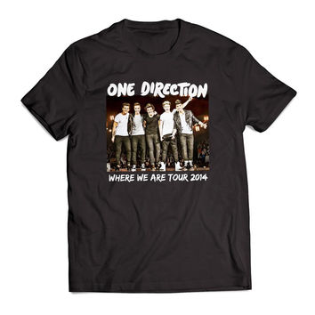 one direction where we are tour 2014 Clothing T Shirt Men