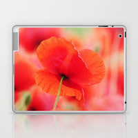 Energie Poppy Laptop & iPad Skin by Tanja Riedel | Society6