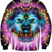 Lion Drippy Crewneck Sweatshirt