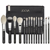 NEW ARRIVAL ZOEVA BRAND EXCELLENT QUALITY 15-LUXE COMPLETE BRUSHES SET