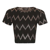Zig Zag Crop Top - New In