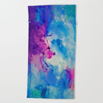 Emanate Beach Towel by DuckyB