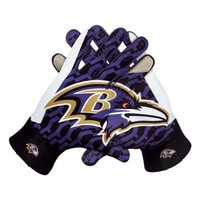 Nike Baltimore Ravens Stadium Gloves - Black