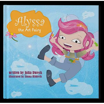 The Art Fairy Personalized Storybook - Soft Cover