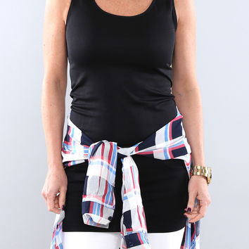 Extra Long Layering Tank | More Color Options