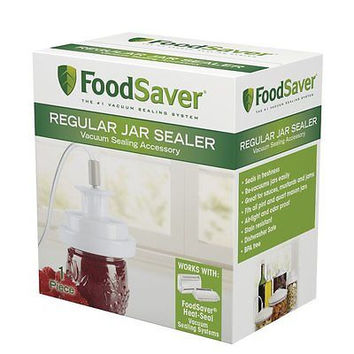 Mason Jar Regular Lid Food Storage Saver Preserve Vacuum Sealer Attachment