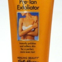 Sally Hansen Airbrush Sun Pre-Tan Exfoliator, 6 Oz (Pack of 4)