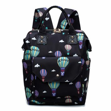 University College Backpack 2018 Fashion Emoji  Women  Teenager Girl School Bag Female Print Knapsack bagpack laptop bag Mochila sac a mainAT_63_4
