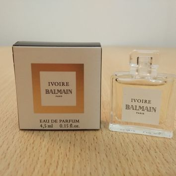 Ivoire Pierre Balmain for Women EDP 4.5 ml MINI MINIATURE PERFUME FRAGRANCE New