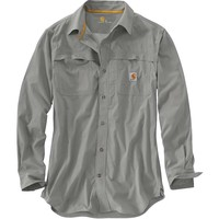 Carhartt Force Mandan Solid Long Sleeve Woven Shirt - Men's