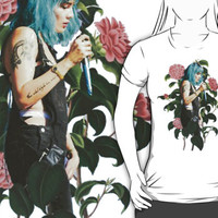 Halsey Hot 100 Floral by cyberbabe