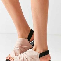 Ruched Peep Toe Slingback Sandal - Urban Outfitters