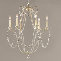 Rowan Iron Beaded Chandelier
