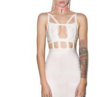 Tiger Mist Diamonds Are Forever Dress White