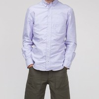 Gitman Brothers Vintage / Purple Stripe Oxford