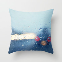 Winter Nights  Throw Pillow by Bree Madden