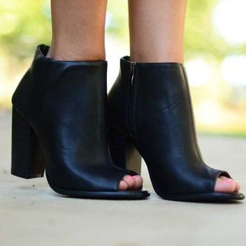 Made for Walking Booties - Black