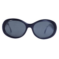 90s Perf Sunglasses - Black