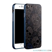 Designer Skull Metal Case - iPhone 6