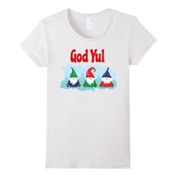 God Yul Merry Christmas Swedish Scandinavian Tomte