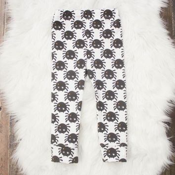 Ready to Ship! Spider Leggings for Babies and Toddlers