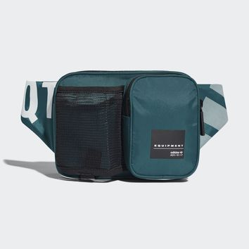 AUGUAU  ADIDAS ORIGINALS WAIST BAG EQT BLACK GREEN CE5568
