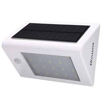 Homdox Waterproof Wireless LED Solar Powered Light For Outdoor Wall Garden Lamp Patio Yard Home Stairs