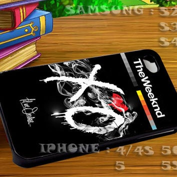 The Weeknd XO Till We Overdose For iphone 4 iphone 5 samsung galaxy s4 / s3 / s2 Case Or Cover Phone.