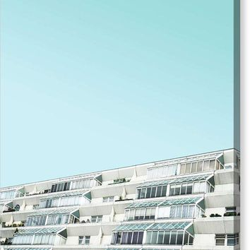 Urban Architecture - The Brunswick Centre, London, United Kingdom 3 - Canvas Print