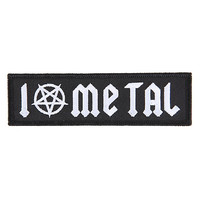I Pentagram Metal Patch