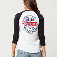 VANS Cold Filtered Womens Raglan Tee | Graphic Tees