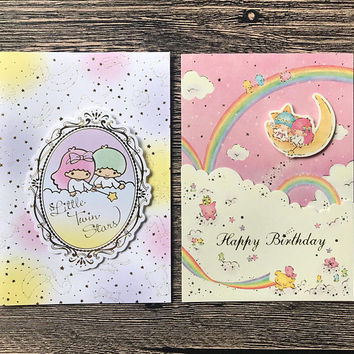 Little Twin Stars Party Card - Sanrio