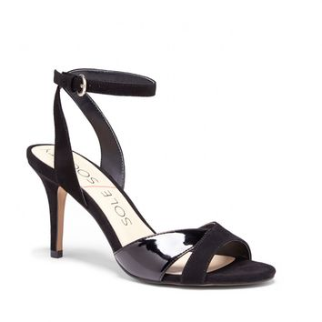 Sole Society Nixie Crisscross Strap Heel