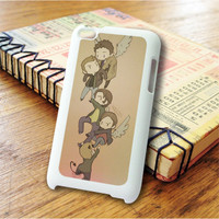 Supernatural Funny Art iPod Touch 4 Case