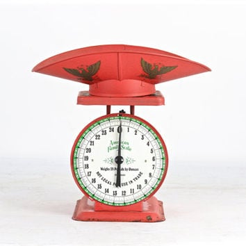 Shop vintage kitchen scale on wanelo for Rustic kitchen scale