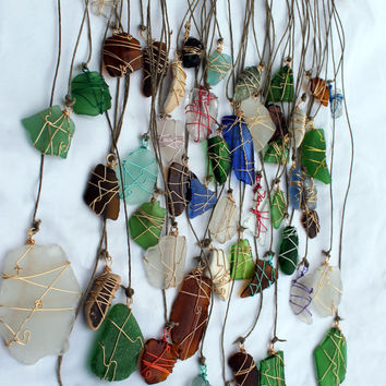 Beach Glass Sun Catcher Driftwood Mobile Ecofriendly  Sea Glass Art  Beach Wedding Decor Rustic Decor Wall Hanging Lake Erie Cobalt Blue