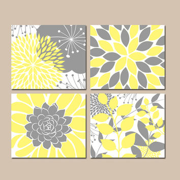 Yellow And Grey Wall Art shop gray and yellow bathroom wall art on wanelo