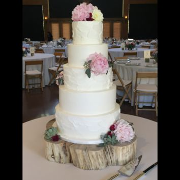 Rustic Wedding Cake Stand
