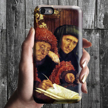 Tax Collectors - Reymerswaele iPhone Case 6/6S, 6 Plus, 4S,5S. Mobile Phone Cell. Art Painting. Gift Idea. Anniversary. Gift for him and her