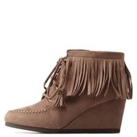 Lace-Up Fringe