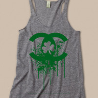 Women's  St Patrick's Day CC Clover Tank Top