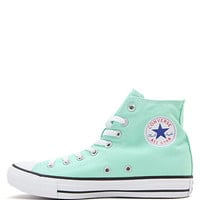 Converse Chuck Taylor All Star Mint Hi Top Sneakers - Womens Shoes - Green - 8