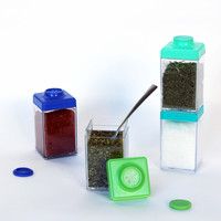 Spice Cubes - Spice Storage System, Set of Four
